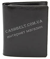 Супер стильный практичный кожаный мужской кошелек Bon-Voyage art. GLX560 черного цвета