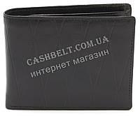 Оригинальный практичный кожаный мужской кошелек WENZ art. 617B черного цвета, фото 1