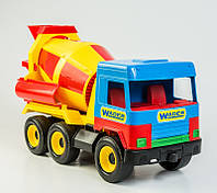 "Машинка ""Бетономешалка"" Wader серия ""Middle Truck"", 39223 Вадер"