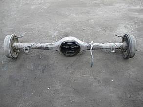 Мост задний чулок редуктора полуося барабаны тормозные Москвич 2140 412