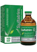 Сульфатрим 100 мл раствор для инъекция ветеринарный антибактериальный препарат