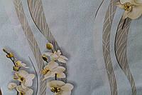 Обои орхидея голубая 0,53/10 м
