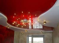 Глянцевые потолки (МАТЕРИАЛ+РАБОТА)