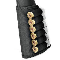 Патронташ на приклад, на 6 гладкоствольных патронов арт. 5085