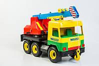 "Машинка ""Кран"" Wader серия ""Middle Truck"", 39226 Вадер"