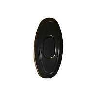Выключатель для бра черный ElectroHouse