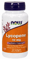 Ликопин, Now Foods, Lycopene, 10mg, 60 sgels