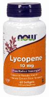 Ликопин, Now Foods, Lycopene, 10mg, 60 sgels
