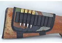 Патронташ на приклад на 10 патронов (7,62 нарезные) камуфляж  арт. 5600