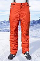 Мужские лыжные брюки FREEVER оранжевые 6751