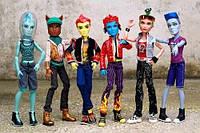 Куклы Monster High - Мальчики