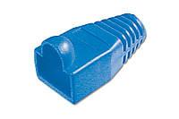 Колпачок для коннекторов rj45 digitus a-mot/b8/8 синий 100 штук
