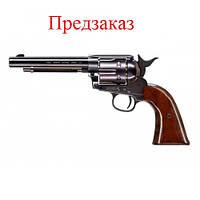Пневматический револьвер Umarex Colt Single Action Army 45 Brown