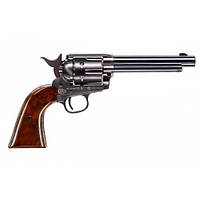 Пневматический револьвер Umarex Colt Single Action Army 45 Brown