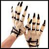 Перчатки зомби резиновые - оригинальный аксессуар для вашего образа!