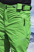 Мужские лыжные брюки FREEVER салатовые 6755