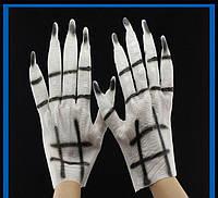 """Перчатки """"Руки Зомби"""" резиновые - оригинальный аксессуар для вашего образа!, фото 1"""