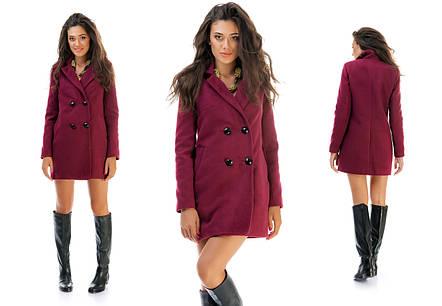 Пальто 4 пуговицы, фото 2