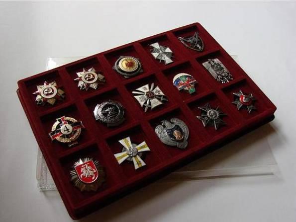 Планшет для орденов на закрутке
