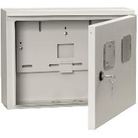 Шкаф навесной под два 1ф счётчика ЯУР-1(2) Г 420х310х150 IP54