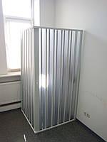 Ширма двері для душа кутова прямокутна 100х100х185 см