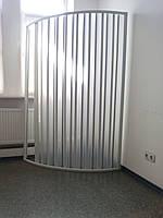 Ширма дверь для душа угловая полукруглая 100х100х185 см