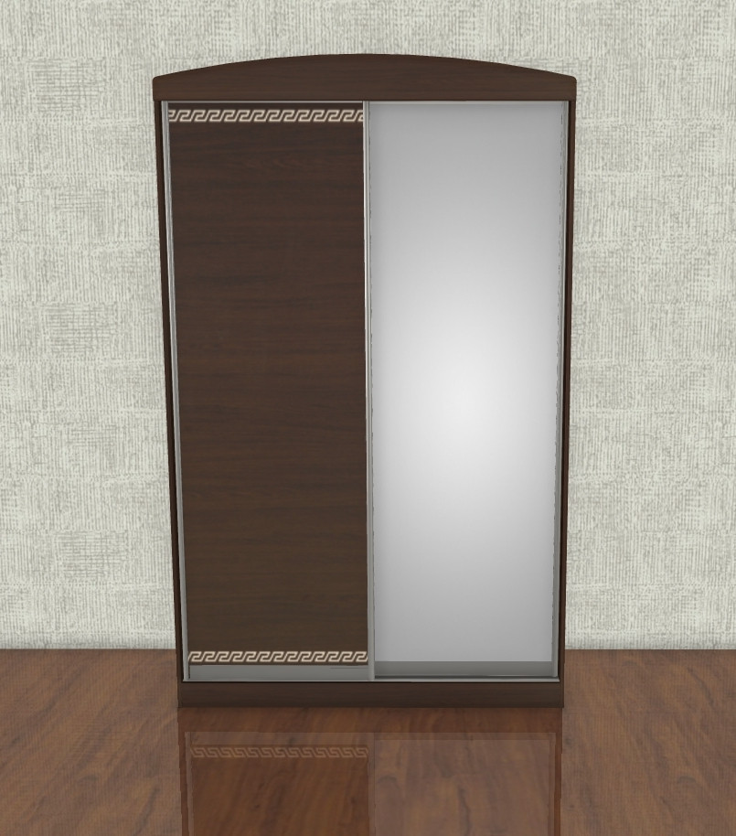 Шкаф купе 150см 2 двери от Комфорт Мебель