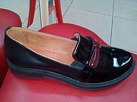 Стильные кожаные туфли EFA