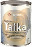 Лазурь двухцветная перламутровая Тиккурила Тайка (Taika), 0.9л