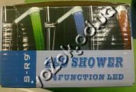 Светодиодная насадка для душа с подсветкой led shower s-r9