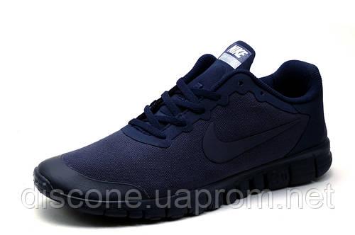 Кроссовки Найк Free 3.0, мужские, темно-синие