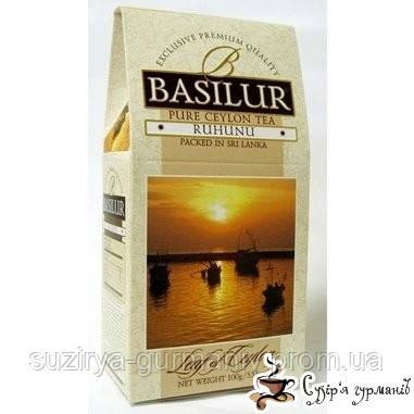 Черный чай Basilur Рухуну - Коллекция «Лист Цейлона» 100г