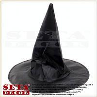 """Колпак """"Ведьма"""" черный на Хэллоуин"""