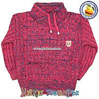 Турецкий вязанный свитер для мальчика от 4 до 7 лет (4654-3)