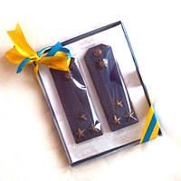 Шоколадные погоны Полковника. Оригинальный подарок мужчине, фото 1