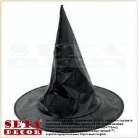 """Колпак детский """"Ведьмочка"""" черный на Хэллоуин"""