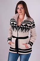 Кофта тёплая  женская батал с 44 по 52 размер