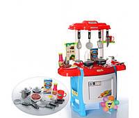 Детская игрушечная кухня WD-B18 с звуком и светом!