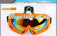 Маска горнолыжная/лыжные очки Spark c УФ фильтром: Оранжевый (Orange)