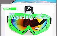 Маска горнолыжная/лыжные очки Spark c УФ фильтром: Салатовый (Green)