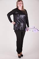 Платье-туника 1100-405 батал от производителя оптом