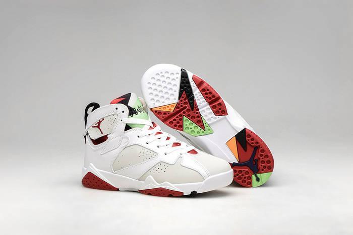 """Купить Кроссовки мужские Nike Air Jordan 7 Retro """"hare""""   AJM-488 ... 97f33adfdd9"""