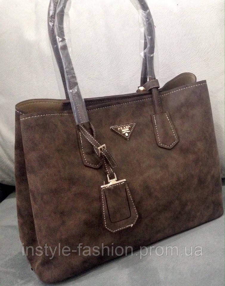 f45711ee16da Сумка Prada коричневая - Сумки брендовые, кошельки, очки, женская одежда  InStyle в Одессе