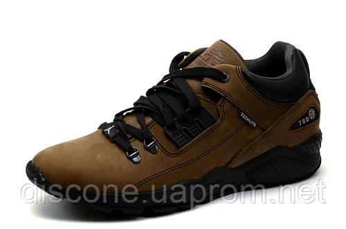 Кроссовки Jordan, мужские, кожаные, коричневые