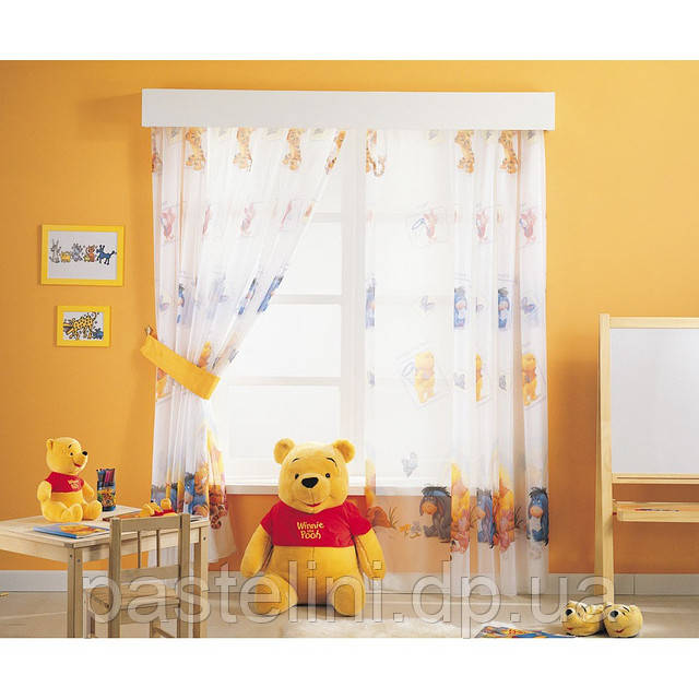 Гардины из органзы Дисней Винни Пух (Winni the Pooh)