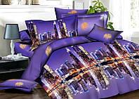 Двуспальный набор постельного белья Ранфорс №206