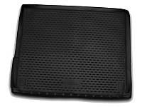 Коврик в багажник VW Touareg, 2010-2015, 2015->, кросс., 2-х зонный климат-контроль, 1 шт. (полиуретан)