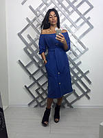 Стильное платье креп-дайвинг
