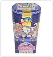 Чёрный чай Battler tea Silver Elephant 100гр. Ж/Б, фото 1
