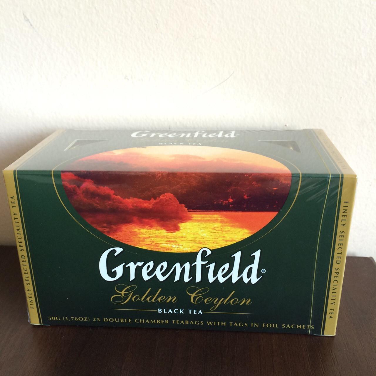 Чай Greenfield Golden Ceylon 25 пак.